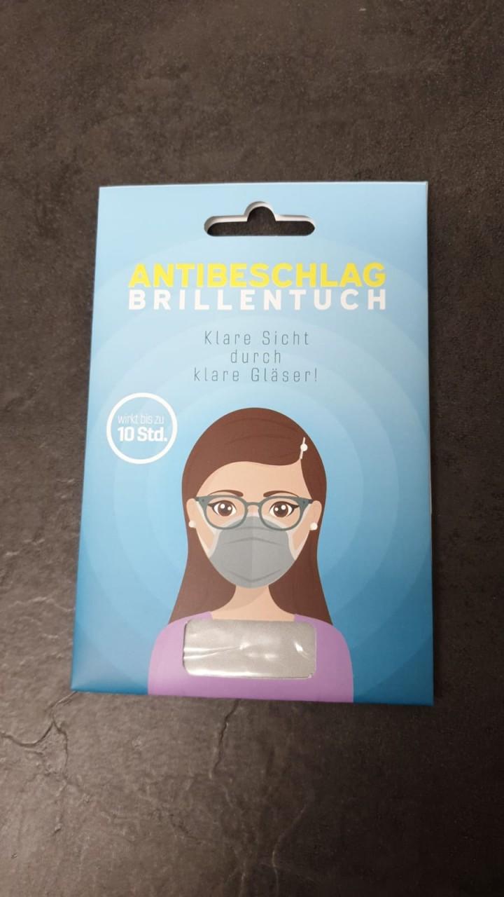 Antibeschlagtuch - Sofort beschlagsfreie Brillengläser